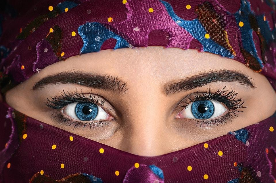 blaue-Augen