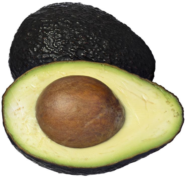 Avocado-mit-braunen-Flecken